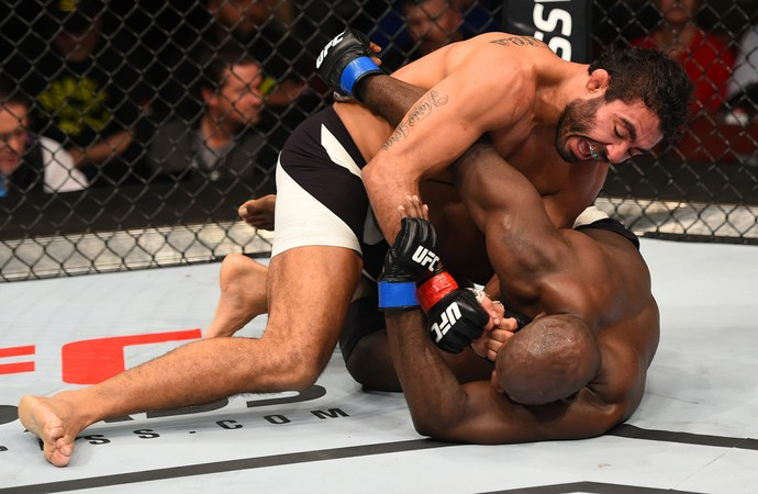 Rafael Natal e Kevin Casey, UFC: Johnson x Bader (Foto: Getty Images)