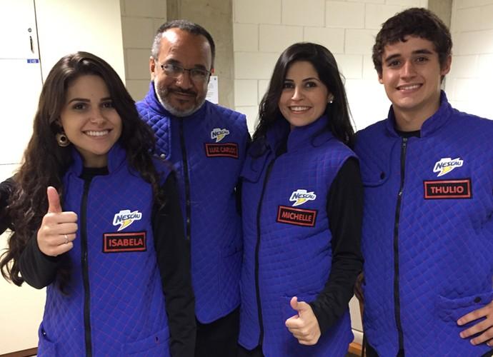 A família de Luiz Carlos (Foto: Divulgação)