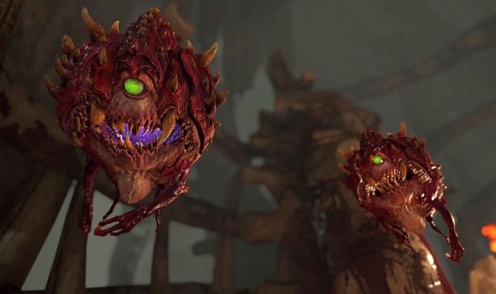 Doom promete inimigos mais inteligentes (Foto: Divulgação/id Software)