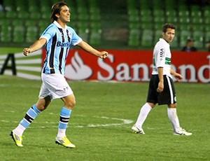 Marcelo Moreno, Coritiba x Grêmio (Foto: Lucas Uebel)