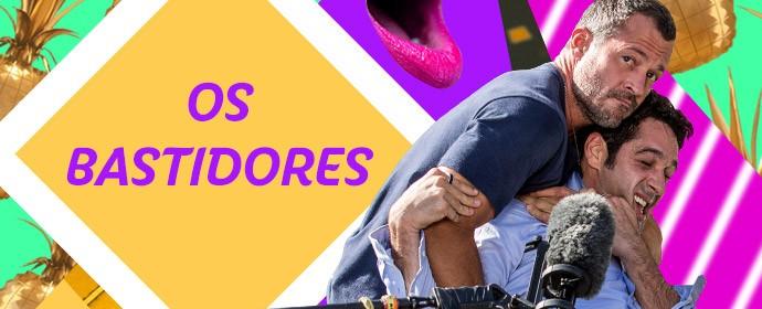 Bastidores - Haja Coração (Foto: Gshow)