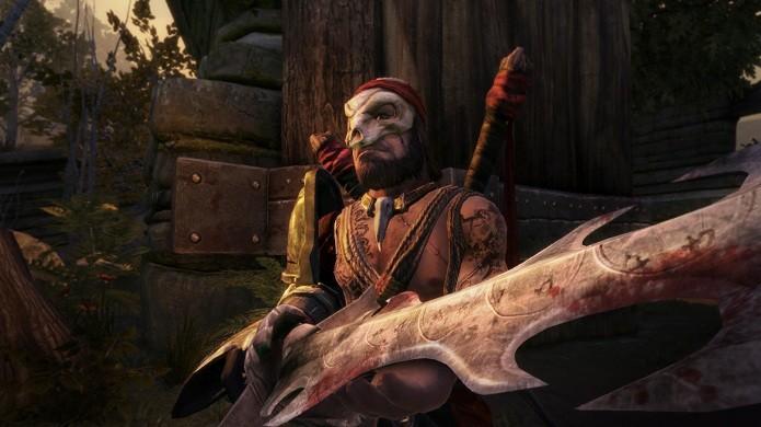 Apesar de os inimigos parecerem carregar as melhores armas, a maior parte dos melhores equipamentos só pode ser encontrado em quests (Foto: Divulgação)