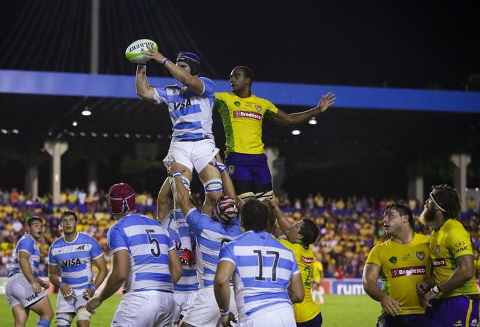 Brasil Argentina rúgbi rugby São José dos Campos Martins Pereira Tupis Pumas (Foto: João Neto/Fotojump)