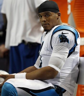 Cam Newton - Carolina Panthers x Atlanta Falcons NFL (Foto: Reuters)