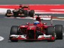 Ferrari revela que Alonso teve pneu furado na parte final da corrida 
