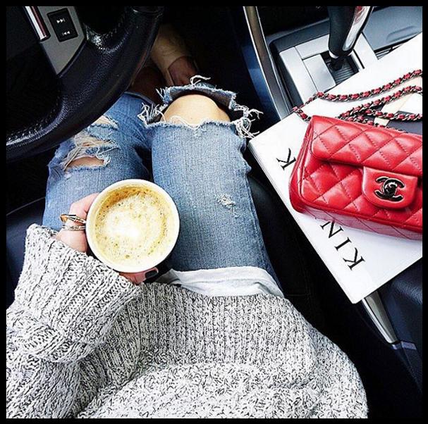 Ah, um café... Insta pra seguir já: @coffeenclothes (Foto: Reprodução/Instagram)