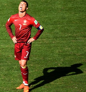 Cristiano Ronaldo Portugal x Gana (Foto: Getty Images )