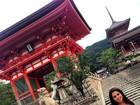 Thais Fersoza posta foto em cartão postal do Japão: 'Viagem foi incrível'