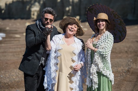 Selton Mello, Aracy Balabanian e Marjorie Estiano  (Foto: TV Globo/Caiuá Franco)