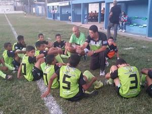 Wagner, ao centro, durante uma das partidas disputadas pela Copa José Maria Melo (Foto: Divulgação)