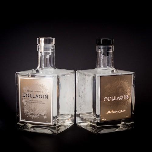 As versões do CollaGin, lançadas pela marca Young in Spirit (Foto: Divulgação)