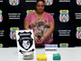 Doméstica é presa ao transportar 3kg de drogas na bolsa, em Manaus