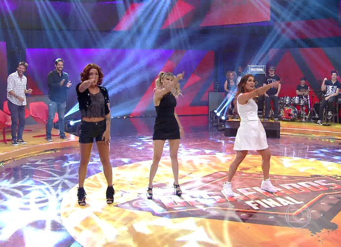 Time feminino faz performance das Spice Girls na final do 'Desafiados' (Foto: Gshow)
