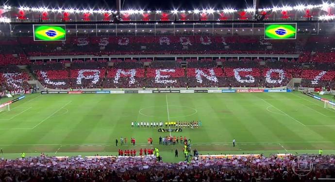 mosaico - isso aqui é Flamengo (Foto: Reprodução)