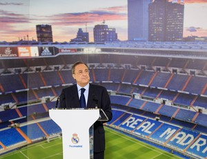 Florentino Pérez, presidente do Real Madrid (Foto: Agência Getty Images)