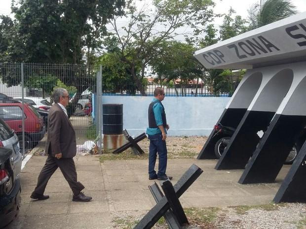 CDP Candelária também passa por inspeção de juiz  (Foto: Sérgio Henrique/Inter TV Cabugi)