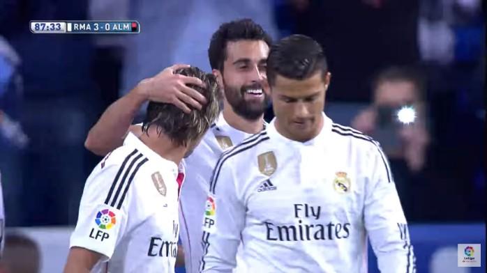 Arbeloa gol Real Madrid Cristiano Ronaldo
