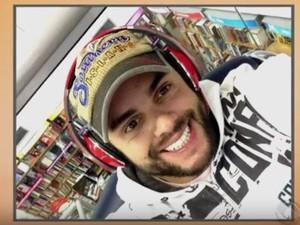 Alexandre foi encontrado morto e amarrado em Florianópolis (Foto: Reprodução/RBS TV)