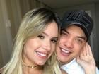 Thyane Dantas se declara para Wesley Safadão: 'Minha vida'