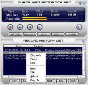 1st Super MP3 Recorder