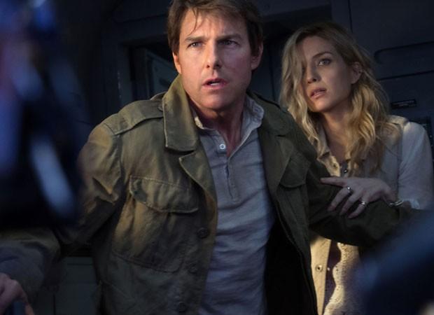 Tom Cruise e Annabelle Wallis em 'A Múmia' (Foto: Divulgação)