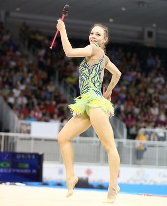 Angélica Kvieczynski ginástica rítmica Jogos Pan Americanos Toronto 2015 (Foto: Saulo Cruz/Exemplus/COB)