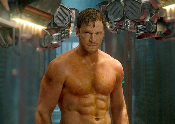 Chris Pratt em 'Guardiões da Galáxia' (2014) (Foto: Reprodução)