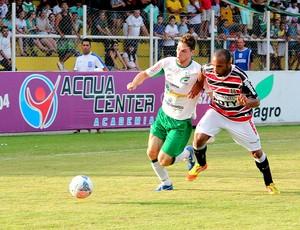 luverdense vence santa cruz (Foto: Assessoria/Luverdense Esporte Clube)