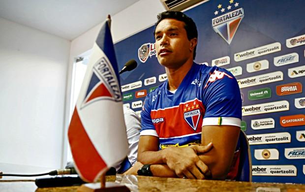 Dudu Cearense, volante do Fortaleza apresentação