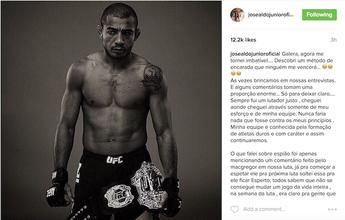 BLOG:  Aldo volta atrás em comentário sobre ter espiões nos treinos de Edgar