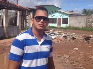 Rafael Cardoso, Centro Comunitário, Cidade Nova, Amapá, Macapá, abandono, Aedes aegypti, (Foto: Fabiana Figueiredo/G1)