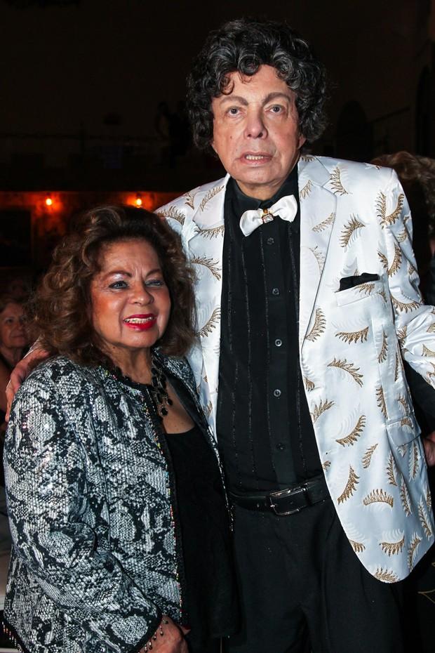 Angela Maria e Cauby Peixoto (Foto: Manuela Scarpa/Brazil News)