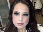Claudia Raia posta foto da caçula toda maquiada: 'Pequena mulher'