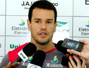 Treino Figueirense Wilson (Foto: Carlos Amorim / Site Oficial do Figueirense)