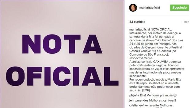 Maria Rita (Foto: Instagram / Reprodução)