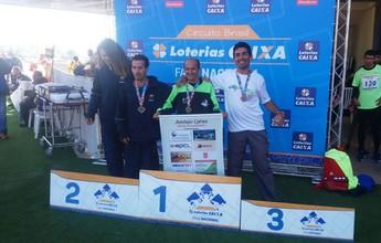 Paratletas da APA conquistam nove medalhas em competição em SP