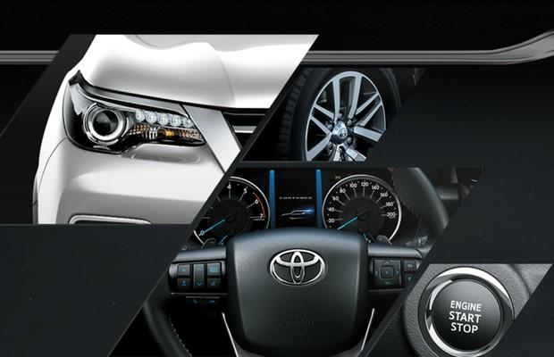 Detalhes da nova SW4 no site da Toyota (Foto: Divulgação)