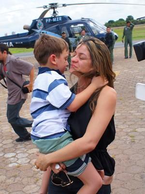 Família agora respira aliviada depois de 14 dias de angústia  (Foto: A. Pinheiro)