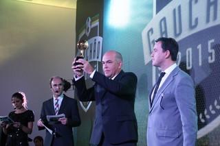 Melhores do Gauchão 2015 festa Central do Gauchão Campeonato Gaúcho Zaluar (Foto: Eduardo Moura/GloboEsporte.com)