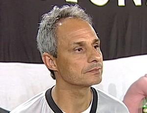 Jordan de Freitas, técnico Nacional Uberaba (Foto: Reprodução/TV Integração)