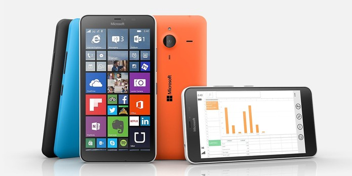 Lumia 640 XL traz tela com 5,7 polegadas e câmera de 13 megapixels (Foto: Divulgação/Windows Phone Store)