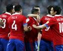 Guerrero encerra jejum, mas Chile domina Peru fora e vence de virada