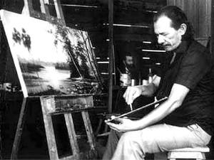 Família de R. Peixe mostrará 40 obvras inéditas do artista em Macapá (Foto: R. Peixe/Arquivo Pessoal)