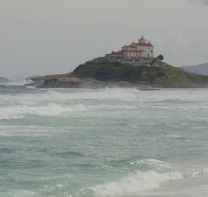 Praia de Itaúna em Saquarema (Foto: Gustavo Garcia/GloboEsporte.com)