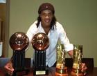 Ronaldinho dá parabéns ao Grêmio (Reprodução / Twitter)