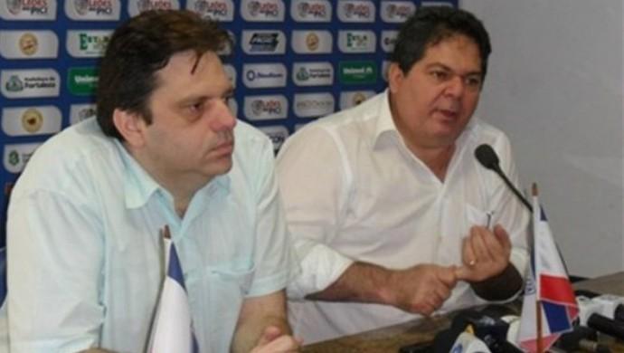 Daniel Frota e Osmar Basquit Fortaleza (Foto: Fortaleza/Divulgação)
