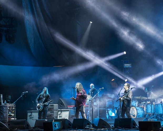 Robert Plant and The Sensational Space Shifters se apresentam cheios de energia no Lollapalooza (Foto: Felipe Monteiro/Gshow)