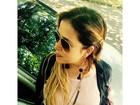Paloma Duarte mostra barrigão de 29 semanas: 'Crescendo'