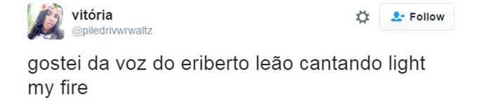 tweet eriberto leão (Foto:  Reprodução/Internet)