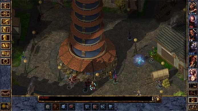 O já clássico Baldur's Gate (Foto: Divulgação/Black Isle)